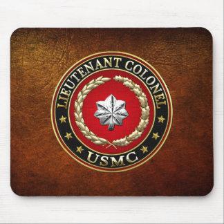 U.S. Marines: Lieutenant Colonel (USMC LtCol) [3D] Mouse Pad