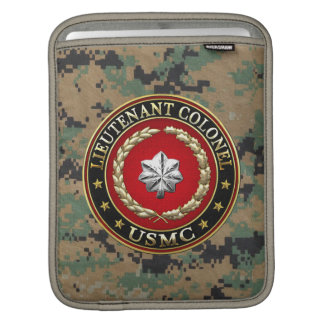 U.S. Marines: Lieutenant Colonel (USMC LtCol) [3D] Sleeves For iPads