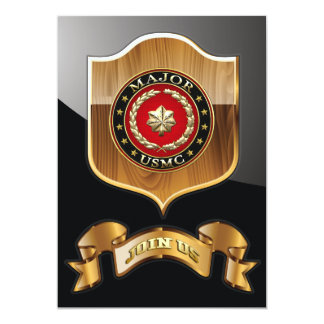 U.S. Marines: Major (USMC Maj) [3D] Card