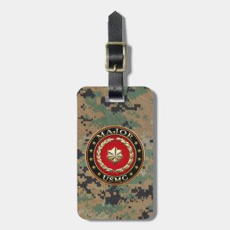 U.S. Marines: Major (USMC Maj) [3D] Luggage Tag