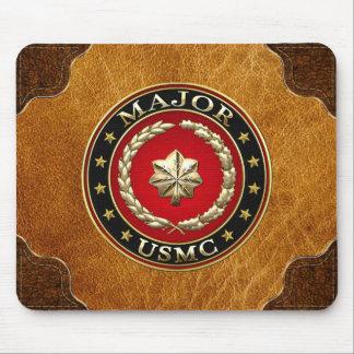 U.S. Marines: Major (USMC Maj) [3D] Mouse Pad