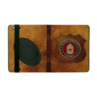 U.S. Marines: Master Sergeant (USMC MSgt) [3D] iPad Folio Case