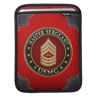 U.S. Marines: Master Sergeant (USMC MSgt) [3D] iPad Sleeves