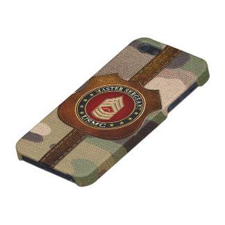 U.S. Marines: Master Sergeant (USMC MSgt) [3D] iPhone SE/5/5s Cover