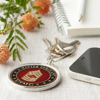 U.S. Marines: Master Sergeant (USMC MSgt) [3D] Keychain