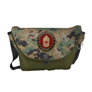 U.S. Marines: Master Sergeant (USMC MSgt) [3D] Courier Bag