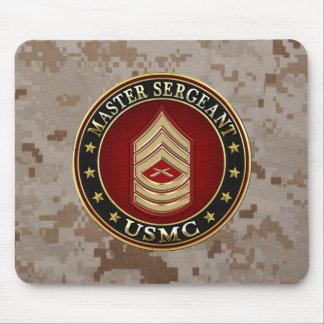 U.S. Marines: Master Sergeant (USMC MSgt) [3D] Mouse Pad