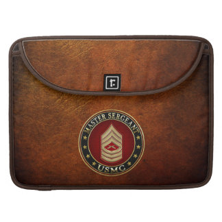 U.S. Marines: Master Sergeant (USMC MSgt) [3D] Sleeve For MacBook Pro