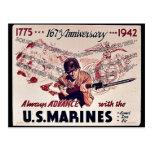 U.S. Marines Postcard
