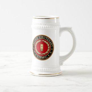 U.S. Marines: Second Lieutenant (USMC 2ndLt) [3D] Beer Stein