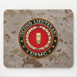 U.S. Marines: Second Lieutenant (USMC 2ndLt) [3D] Mouse Pad