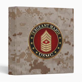 U.S. Marines: Sergeant Major (USMC SgtMaj) [3D] 3 Ring Binder