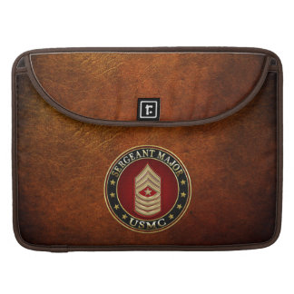 U.S. Marines: Sergeant Major (USMC SgtMaj) [3D] MacBook Pro Sleeve