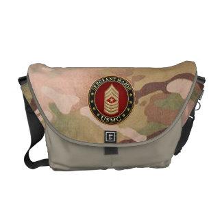 U.S. Marines: Sergeant Major (USMC SgtMaj) [3D] Messenger Bag