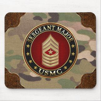 U.S. Marines: Sergeant Major (USMC SgtMaj) [3D] Mouse Pad
