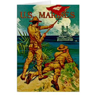 U.S. Marines ~ Signal Flag Greeting Card