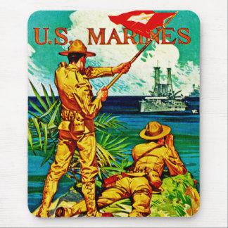U.S. Marines ~ Signal Flag Mouse Pad