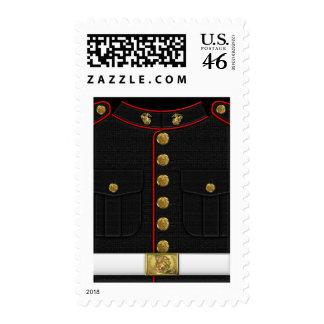 U S Marines USMC Dress Uniform 3D Stamp