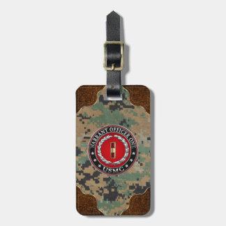 U.S. Marines: Warrant Officer One (USMC WO-1) [3D] Bag Tag