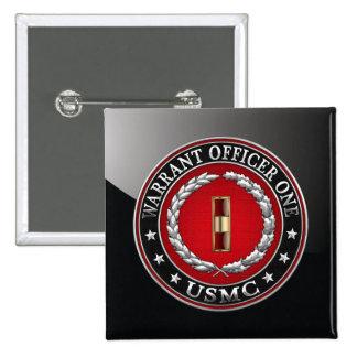 U.S. Marines: Warrant Officer One (USMC WO-1) [3D] Pins