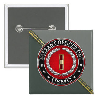 U.S. Marines: Warrant Officer One (USMC WO-1) [3D] Buttons