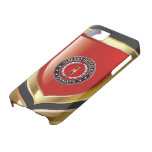 U.S. Marines: Warrant Officer One (USMC WO-1) [3D] iPhone 5 Cases