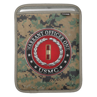 U.S. Marines: Warrant Officer One (USMC WO-1) [3D] iPad Sleeves