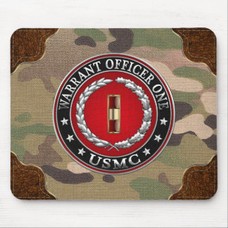U.S. Marines: Warrant Officer One (USMC WO-1) [3D] Mouse Pad