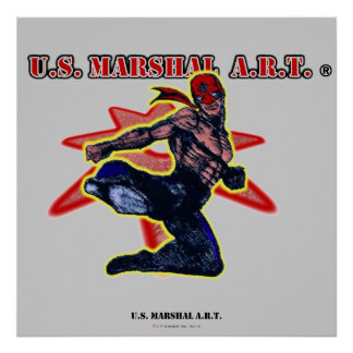 "U.S. MARISCAL A.R.T. ""poster "" Póster"