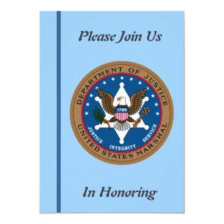 U.S. Marshall Service Retirement Invitation