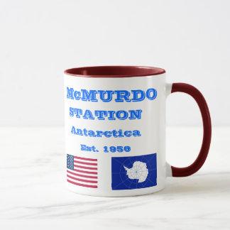 U.S. McMurdo Antarctica Souvenir Mug
