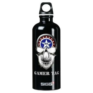 U.S. MILITARY Canteen w/Skull SIGG Traveler 0.6L Water Bottle