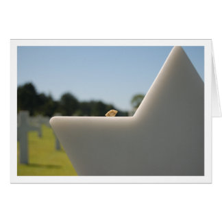 U.S. Military Cemetery in Normandy, France Greeting Card