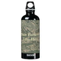 U.S. Military Green Camouflage Traveller Bottle
