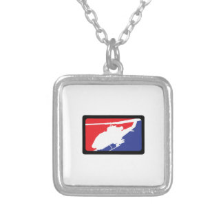 U S MILITARY HELICOPTER PERSONALIZED NECKLACE