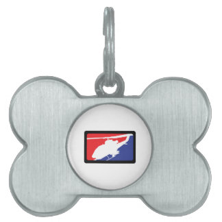 U S MILITARY HELICOPTER PET NAME TAG
