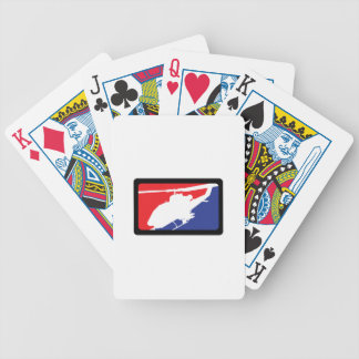 U S MILITARY HELICOPTER BICYCLE PLAYING CARDS