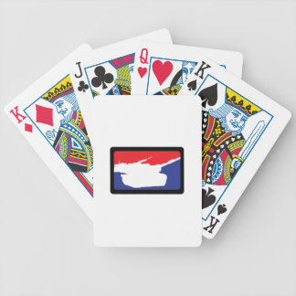 U S MILITARY TANK BICYCLE PLAYING CARDS