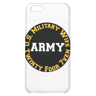 U.S. Military Wife Case For iPhone 5C