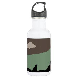 U.S. Military Woodland Camouflage Water Bottle