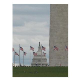 U.S. Monumento del capitolio y de Washington Postal