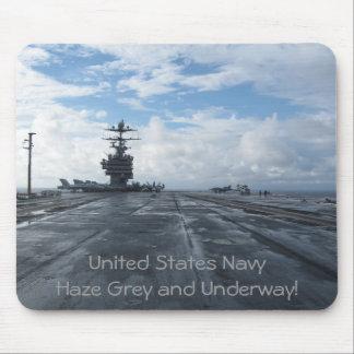 U.S.N Haze Grey Mouse Pad