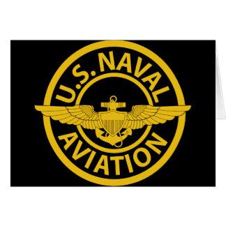 U.S. Naval Aviation - 2 Card