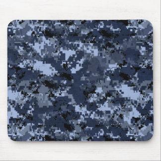 U.S.Navy Blue Camouflage Mousepad