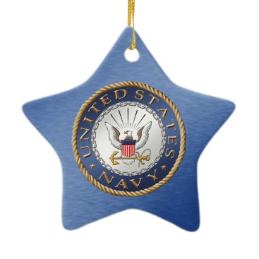 U.S. Navy Ceramic Ornament