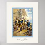 U.S. Navy ~ Commander in Chief of Fleet ~ 1776 Posters