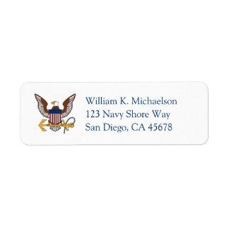 U.S. Navy | Eagle Emblem Label