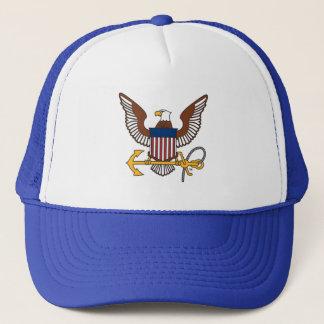U.S. Navy   Eagle Emblem Trucker Hat