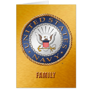 U.S. Navy Family Card