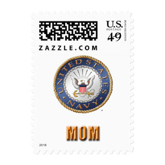 U.S. Navy Mom Postage Sheet